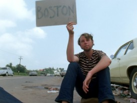 "A boy tries to hitch a ride back to Boston in ""Closing of Festival."""