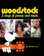 Woodstock: 3 Days of Peace & Music - The Director's Cut, 40th Anniversary Revisited Blu-ray cover art -- click to buy from Amazon.com