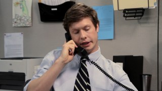 The Digital Originals shorts find Anders (Anders Holm) and his cubicle mates -- gasp! -- actually working.