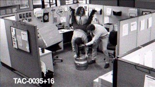 The guys' keg stands are caught on security cameras in one of nine short Digital Originals.