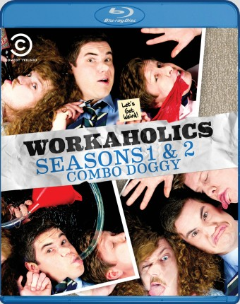 Workaholics: Seasons 1 & 2 Combo Doggy Blu-ray cover art - click to buy from Amazon.com