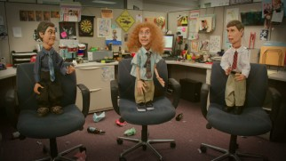 This promo advertises the premiere of Workaholics' fourth season with marionette puppets of the guys.