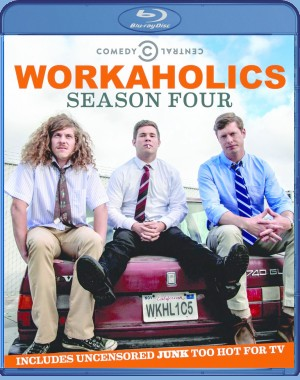 Workaholics: Season 4 Blu-ray cover art - click to buy from Amazon.com