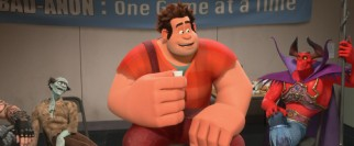 The thirtieth anniversary of his video game prompts Wreck-It Ralph to finally give the Bad-Anon support group a try.