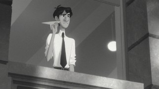 "In Disney's Oscar-winning short ""Paperman"", a city office worker tries to reconnect with a female he briefly met on his morning commute."