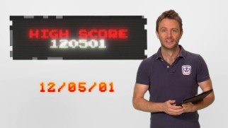 "In one of ""The Gamer's Guide to 'Wreck-It Ralph'"" shorts, Chris Hardwick explains the significance of the high score 120501 and how it pertains to Walt Disney."