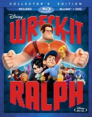 Wreck-It Ralph 2-disc set (Blu-ray + DVD) combo pack cover art