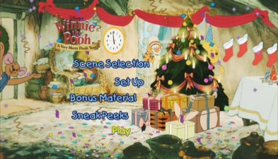 Disney Sing Along Songs Very Merry Christmas Songs 2002.Winnie The Pooh A Very Merry Pooh Year Dvd Review