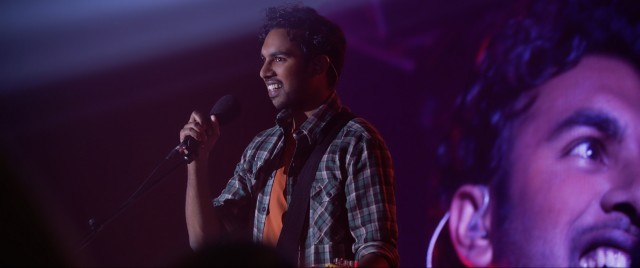 "In ""Yesterday"", Jack Malik (Himesh Patel) goes from a nobody to a world famous singer-songwriter on the basis of his unique knowledge of the otherwise unknown Beatles' catalogue."