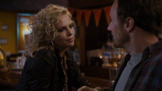 Mavis (Charlize Theron) pulls out all the beauty stops to remind Buddy (Patrick Wilson) what he's missing.