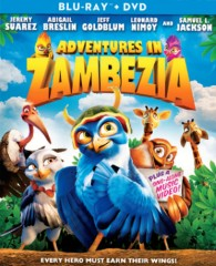 Adventures in Zambezia (2012) Blu-ray + DVD combo pack cover art -- click to buy from Amazon.com