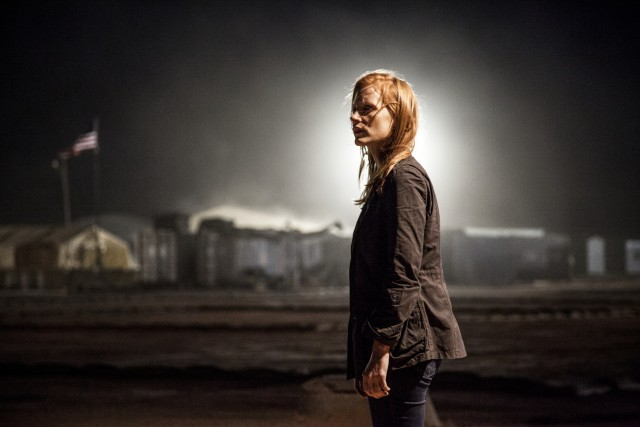 """Zero Dark Thirty"" stars Jessica Chastain as Maya, a CIA officer devoted to finding Osama bin Laden."