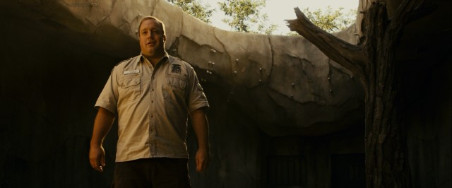 Kevin James is Zookeeper.