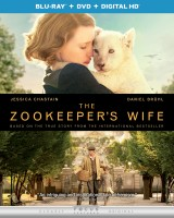 The Zookeeper's Wife: Blu-ray + DVD + Digital HD cover art - click to buy from Amazon.com