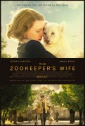 The Zookeeper's Wife (2017) movie poster