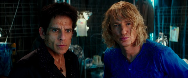 "Male models Derek Zoolander (Ben Stiller) and Hansel (Owen Wilson) are back and covered in prunes in ""Zoolander 2."""