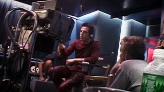 """The Zoolander Legacy"" largely celebrates the original film, complete with behind-the-scenes clips like this."