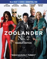 Zoolander No. 2: The Magnum Edition Blu-ray + DVD + Digital HD combo pack cover art - click to buy from Amazon.com